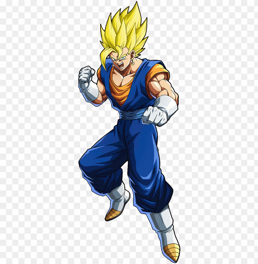 free PNG how's this - dragon ball fighterz vegito PNG image with transparent background PNG images transparent