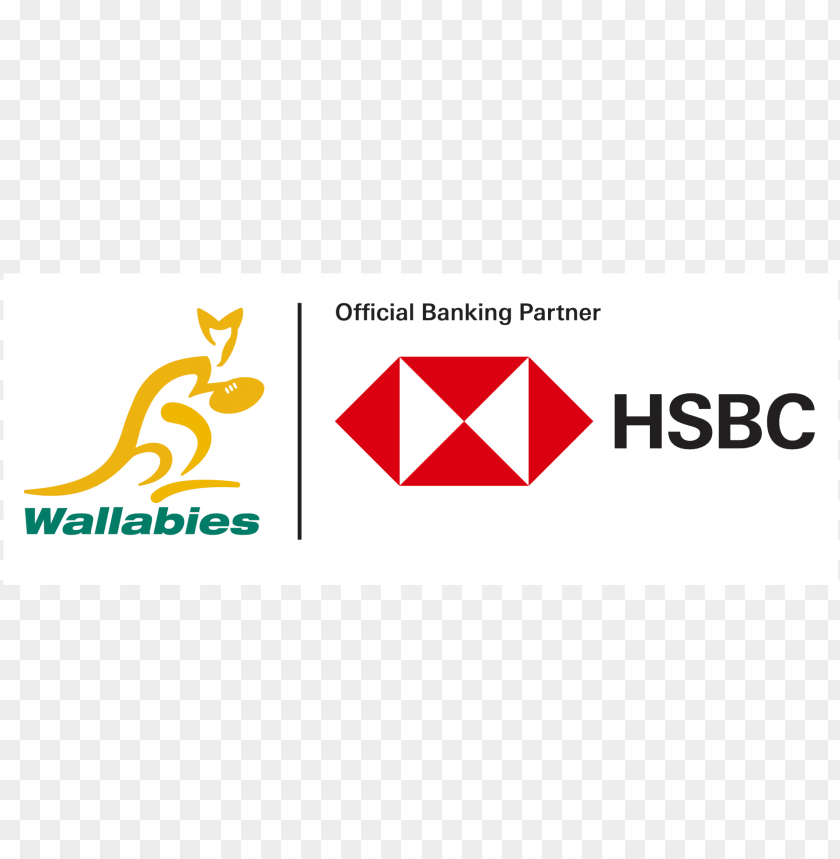 Hsbc Wallabies Wallabies Rugby Png Image With Transparent Background Toppng