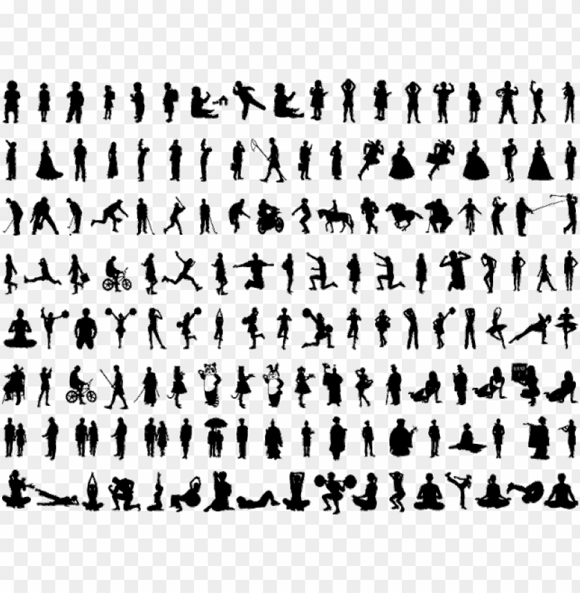 free PNG silhouette human figure PNG image with transparent background PNG images transparent