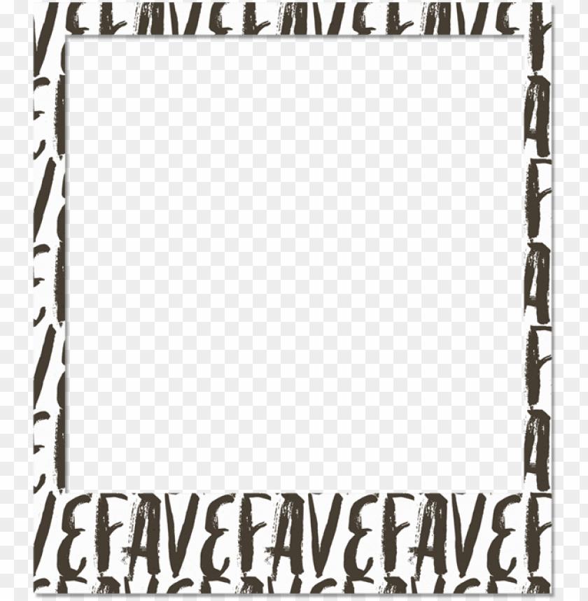 free PNG http - //shabbyblogsblog - blogspot - polaroid - polaroid frame with designs PNG image with transparent background PNG images transparent