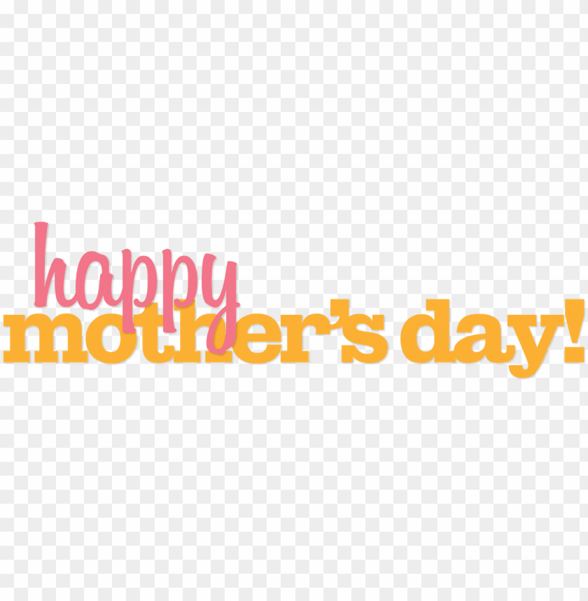 free PNG happy mothers day banner PNG image with transparent background PNG images transparent