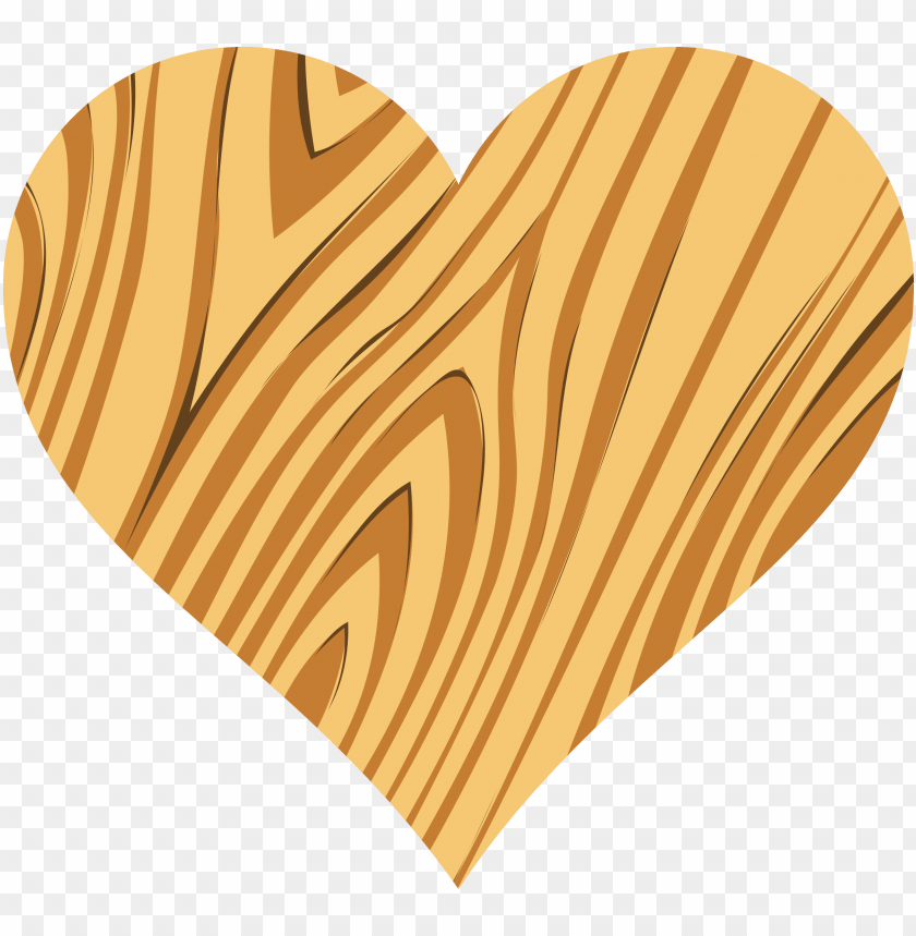 free PNG huge freebie download for powerpoint presentations - wooden heart PNG image with transparent background PNG images transparent