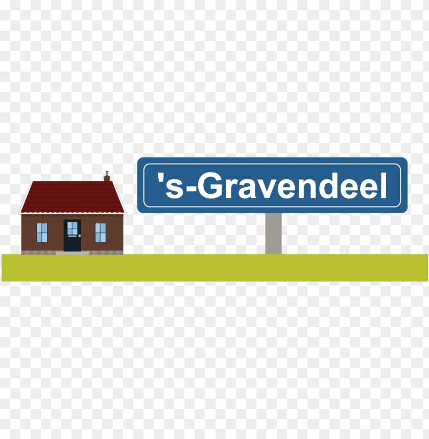 free PNG huisje en bordje groot - si PNG image with transparent background PNG images transparent