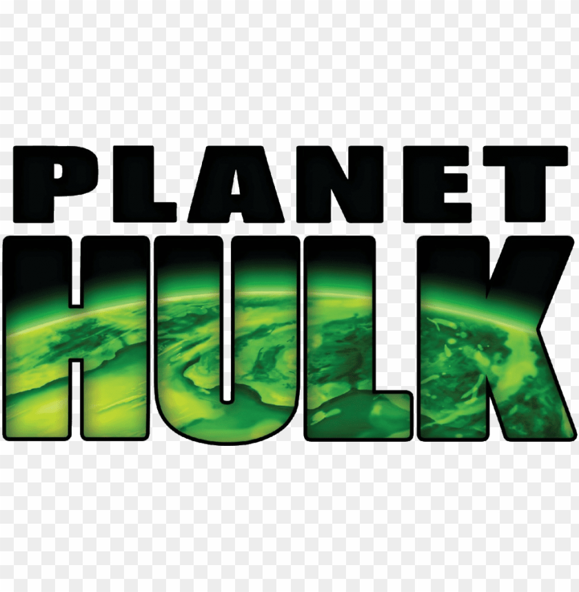 hulk svg logos - planet hulk title PNG image with transparent background@toppng.com