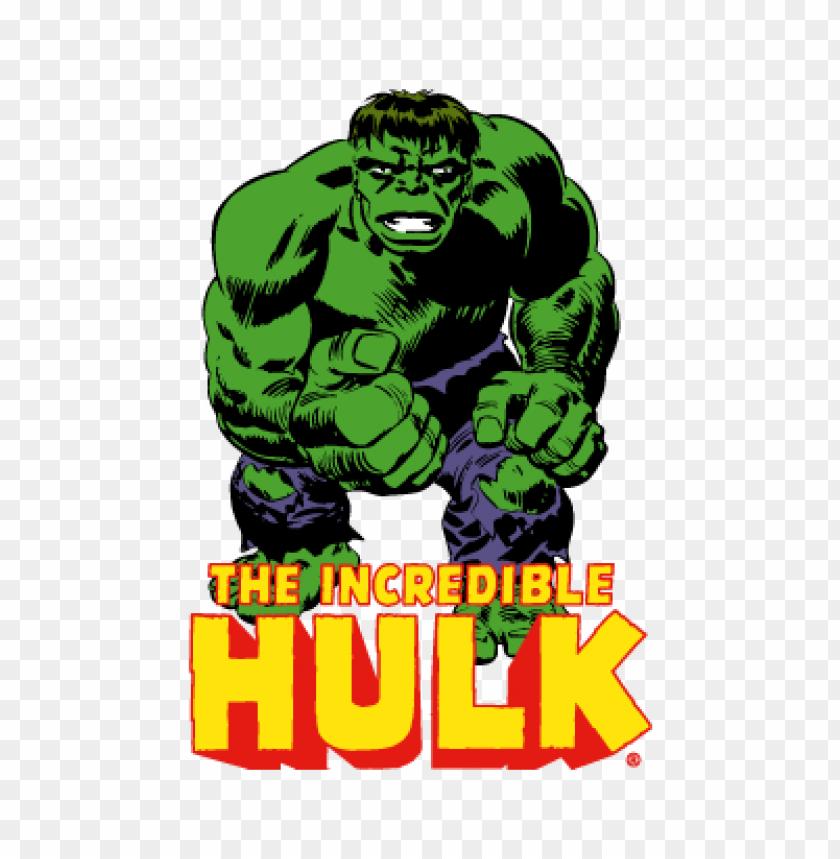 Hulk Vector Logo Free Download Toppng