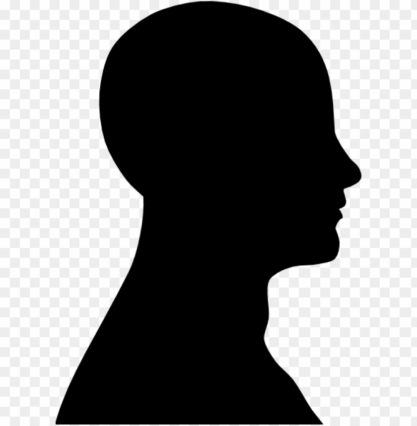 free PNG human head png - human head silhouette vector PNG image with transparent background PNG images transparent