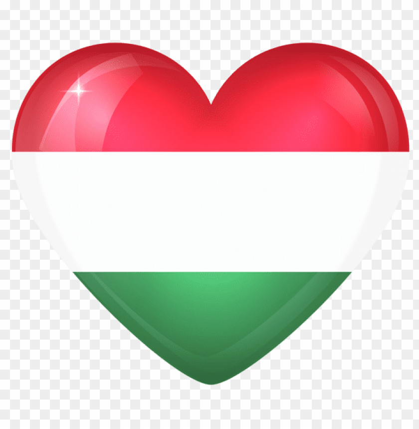 free PNG Download hungary large heart flag clipart png photo   PNG images transparent