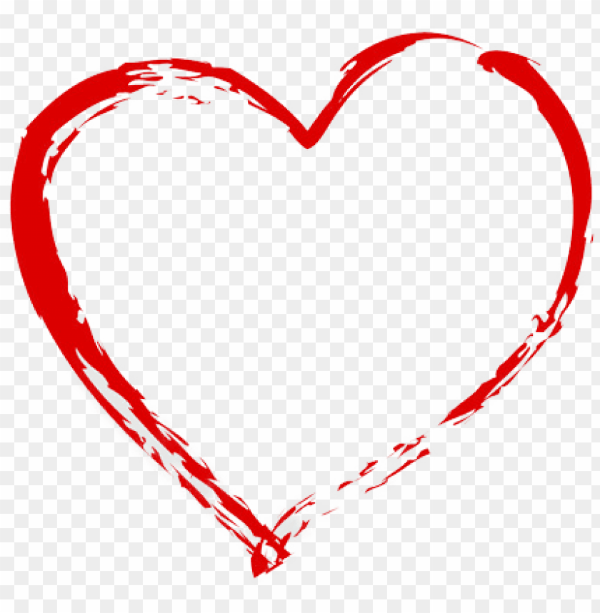 free PNG huum - hand drawing heart PNG image with transparent background PNG images transparent
