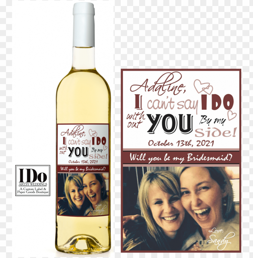 free PNG i can't say i do artsy wine labels - wine bottle PNG image with transparent background PNG images transparent