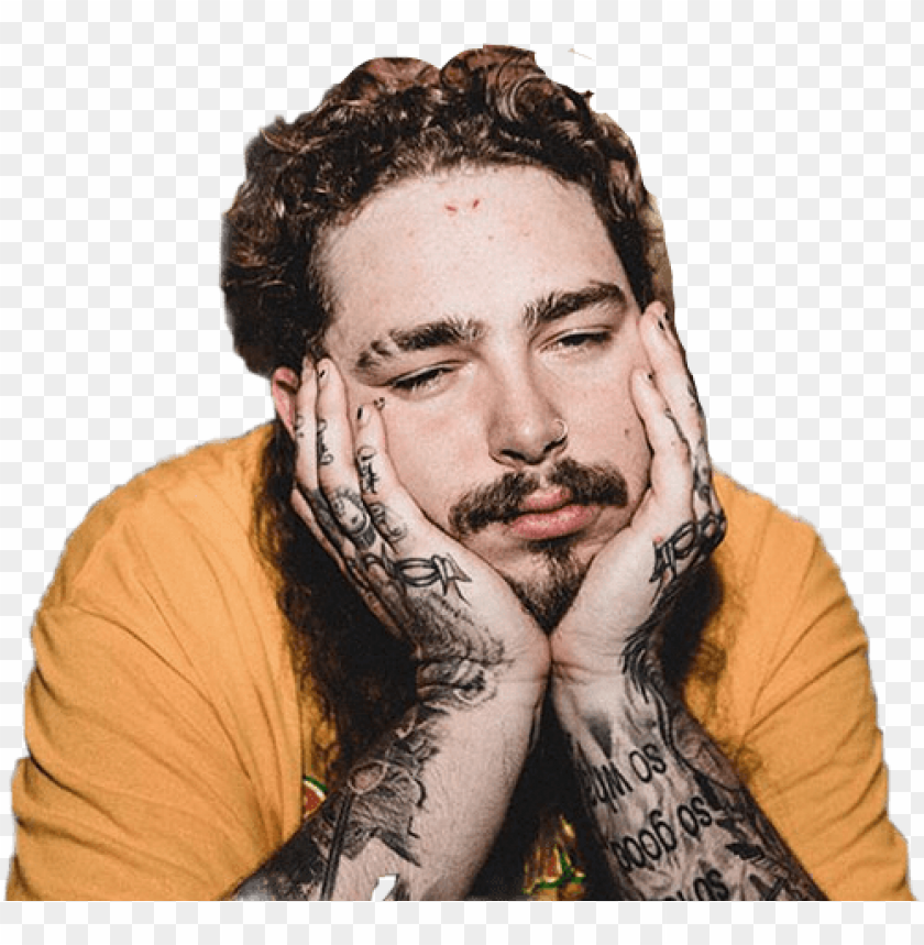 I Don T Know Why But I M Obsessed With Post Malone Good To People For No Reason Post Malone Png Image With Transparent Background Toppng