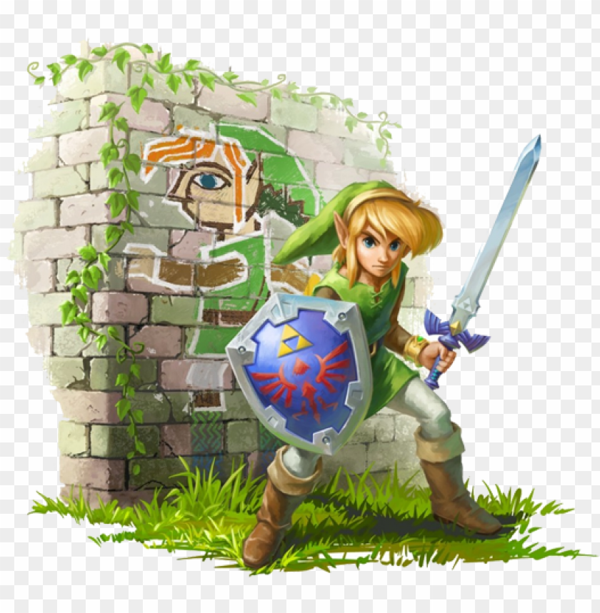 free PNG i know everyone loves the 3d zelda's, but there is - legend of zelda a link between worlds link PNG image with transparent background PNG images transparent