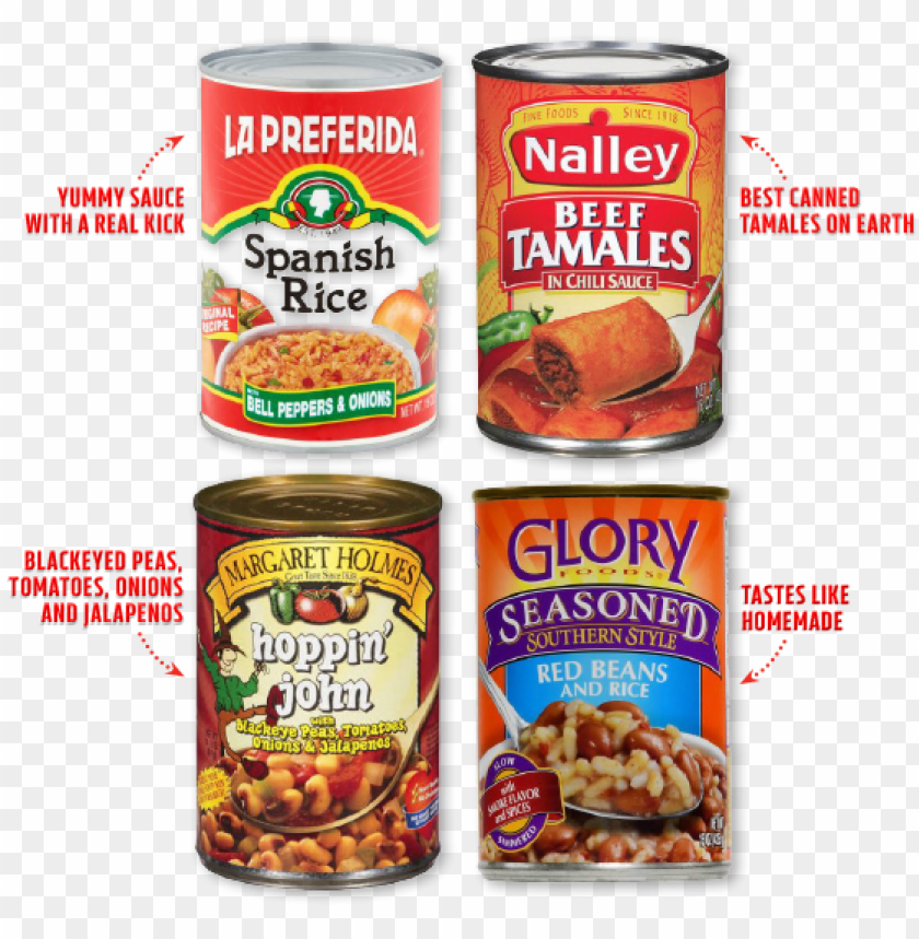 free PNG i like the la preferida spanish rice and nalley beef - nalley tamales, beef, in chili sauce - 15 oz PNG image with transparent background PNG images transparent