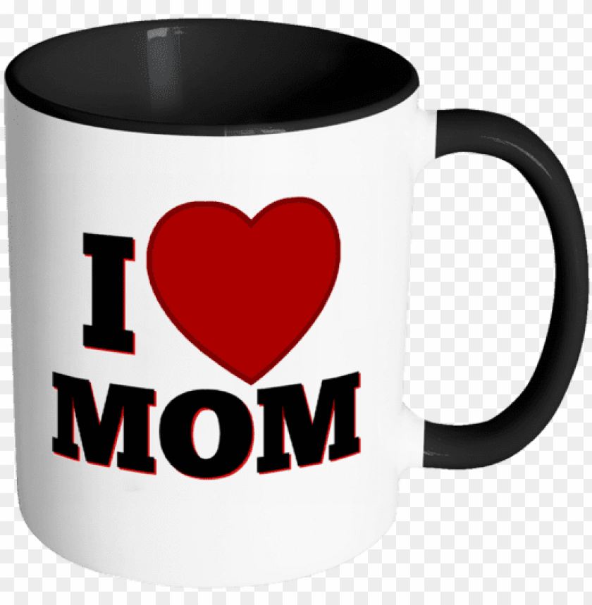 free PNG i love mom - love mom cofee mug PNG image with transparent background PNG images transparent