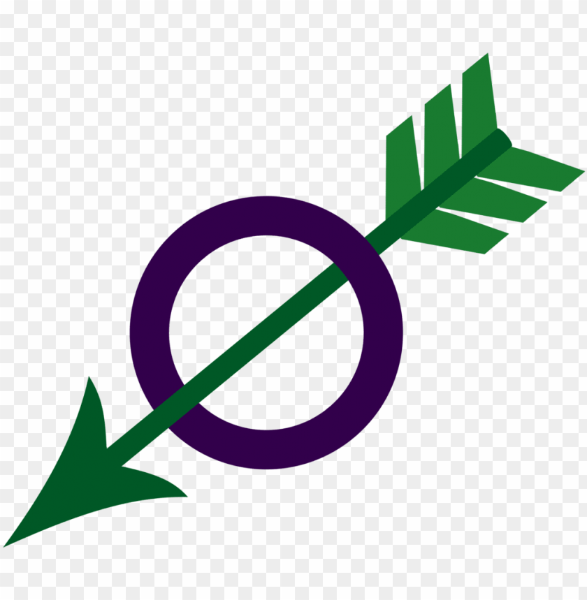 free PNG i wanted a single symbol for my aroace identity - arrow with circle symbol PNG image with transparent background PNG images transparent