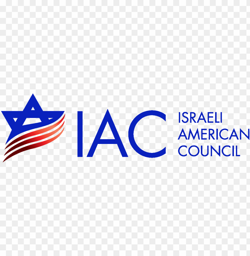 free PNG iac logo final new logo 2015 - israeli american council logo PNG image with transparent background PNG images transparent