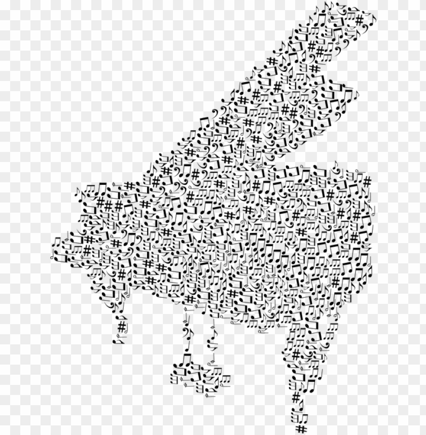 free PNG iano, instrument, musical, notes, art, audio, aural - music notes with piano PNG image with transparent background PNG images transparent