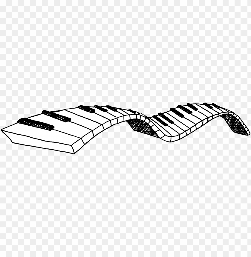 free PNG iano keys clipart - piano keys png clipart PNG image with transparent background PNG images transparent