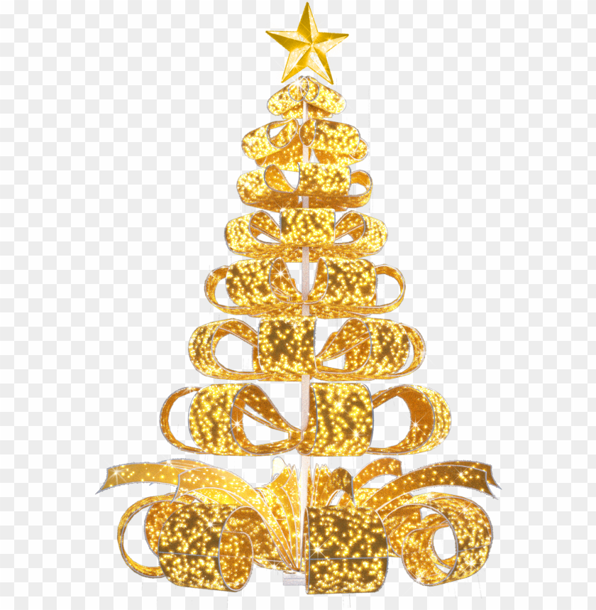 free PNG iant commercial christmas tree, gold christmas tree, - christmas ornament PNG image with transparent background PNG images transparent