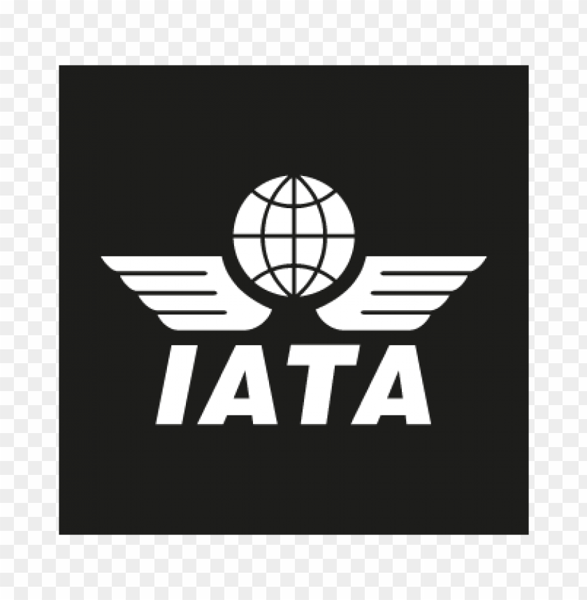 iata black vector logo free download toppng iata black vector logo free download