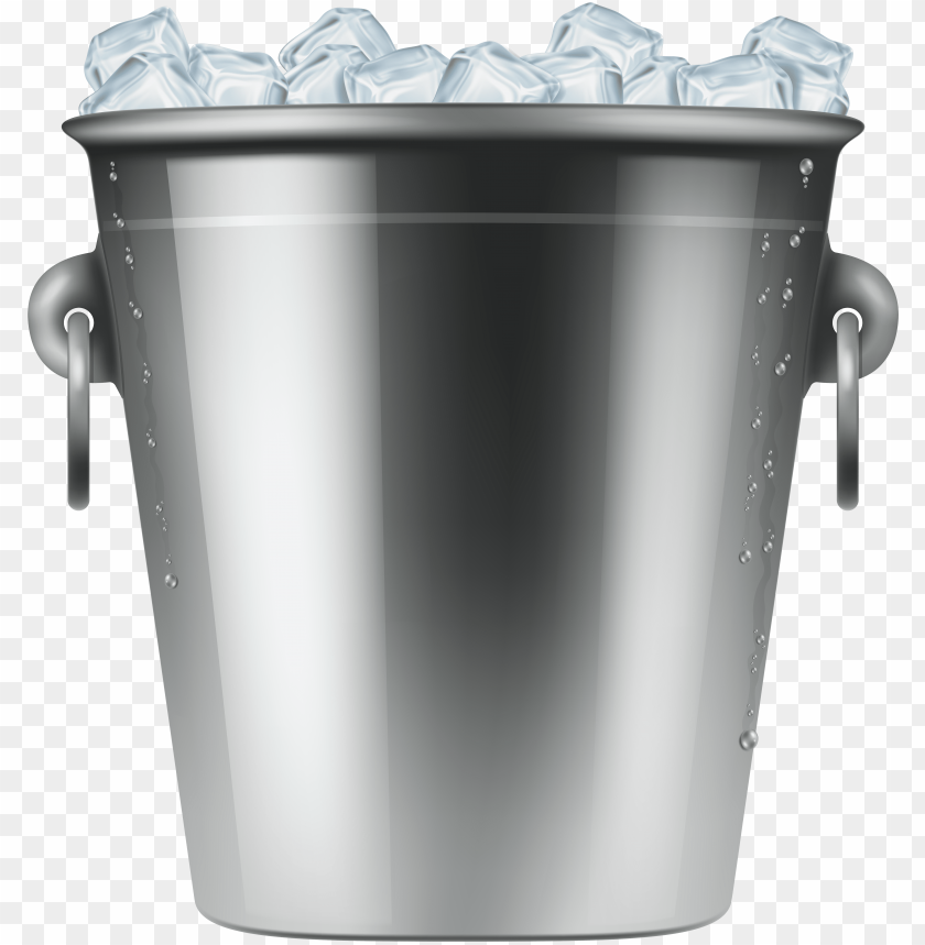 free PNG ice bucket png clip art - bucket of ice clip art PNG image with transparent background PNG images transparent