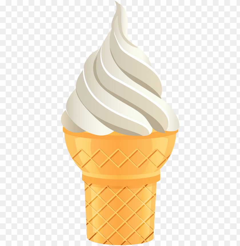 free PNG ice cream cone png transparent clip art image, is available - vanilla ice cream PNG image with transparent background PNG images transparent