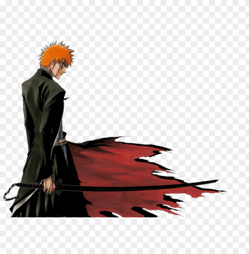 free PNG ichigo kurosaki- one of the best lead role characters - ichigo bankai PNG image with transparent background PNG images transparent