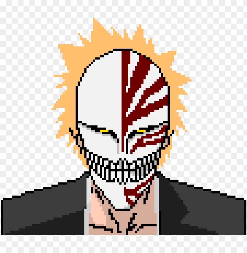 Ichigo Pixel Art Png Image With Transparent Background