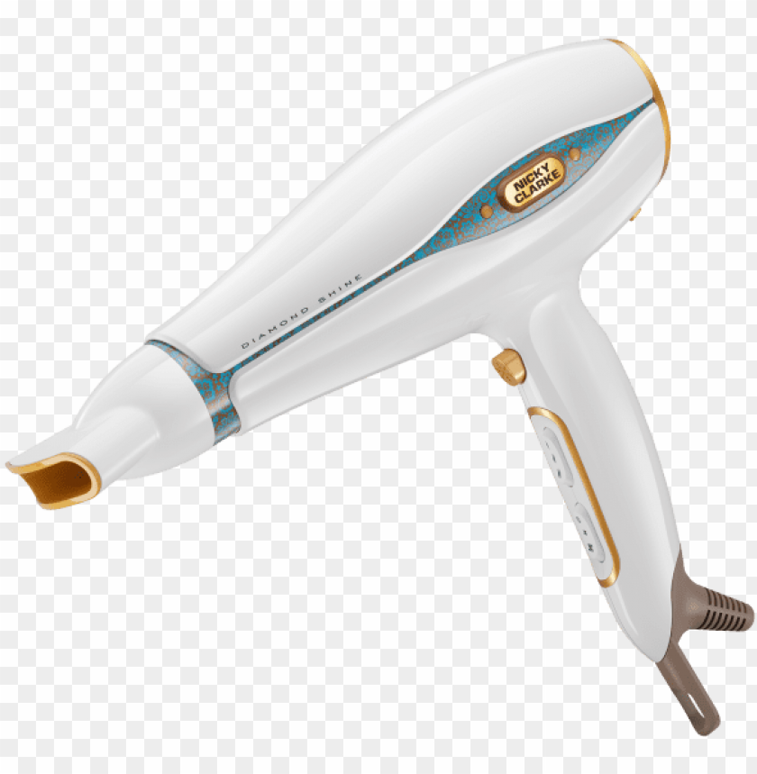 free PNG icky clarke diamond shine collection - nicky clarke diamond shine hair dryer PNG image with transparent background PNG images transparent