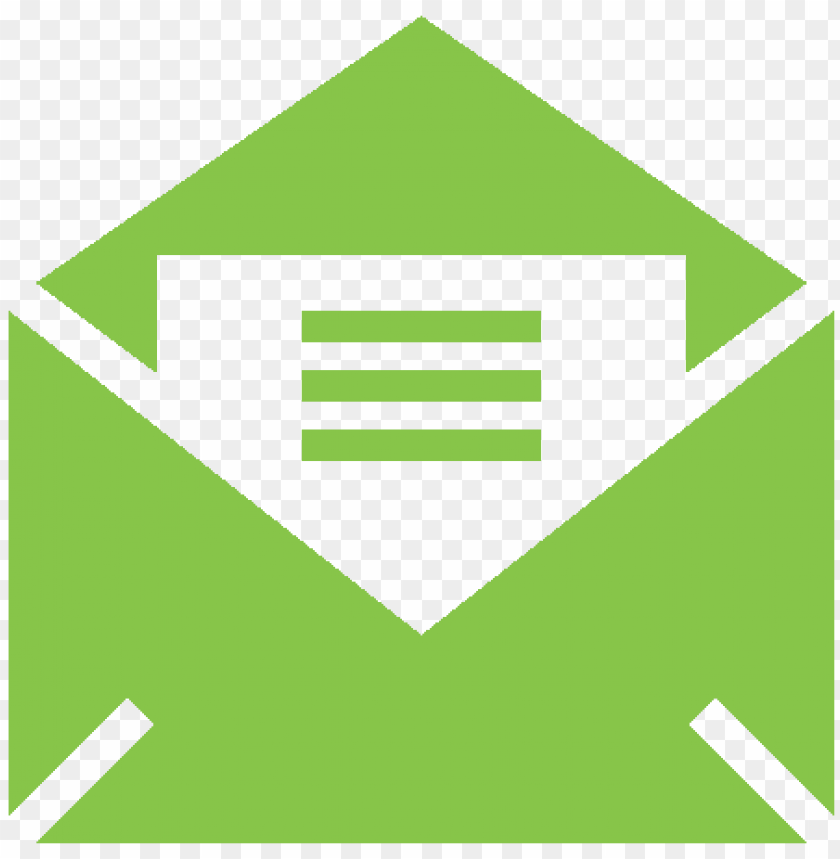free PNG icon email mail green - email icon color png - Free PNG Images PNG images transparent