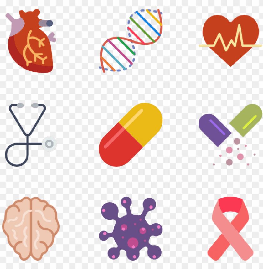 free PNG icon font, icon pack, vector icons, medical, medical - icons of health conditions png - Free PNG Images PNG images transparent