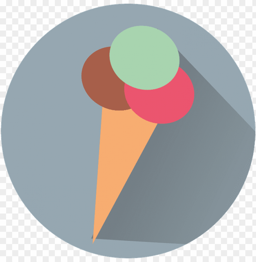 free PNG icon, ice cream, ice, dessert, desserts, knob - ice cream icon circle PNG image with transparent background PNG images transparent