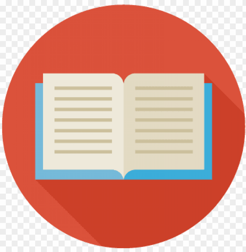 books icon png icon vector circle book png image with transparent