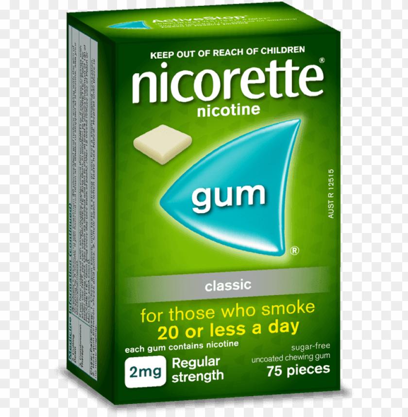 free PNG icorette gum classic - nicorette inhaler PNG image with transparent background PNG images transparent