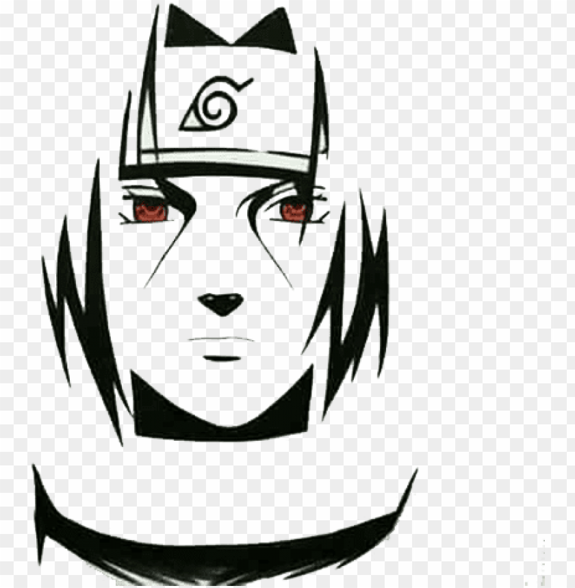 Icture Black And White Library Itachi Uchiha Sasuke Naruto Blanco Y Negro Png Image With Transparent Background Toppng