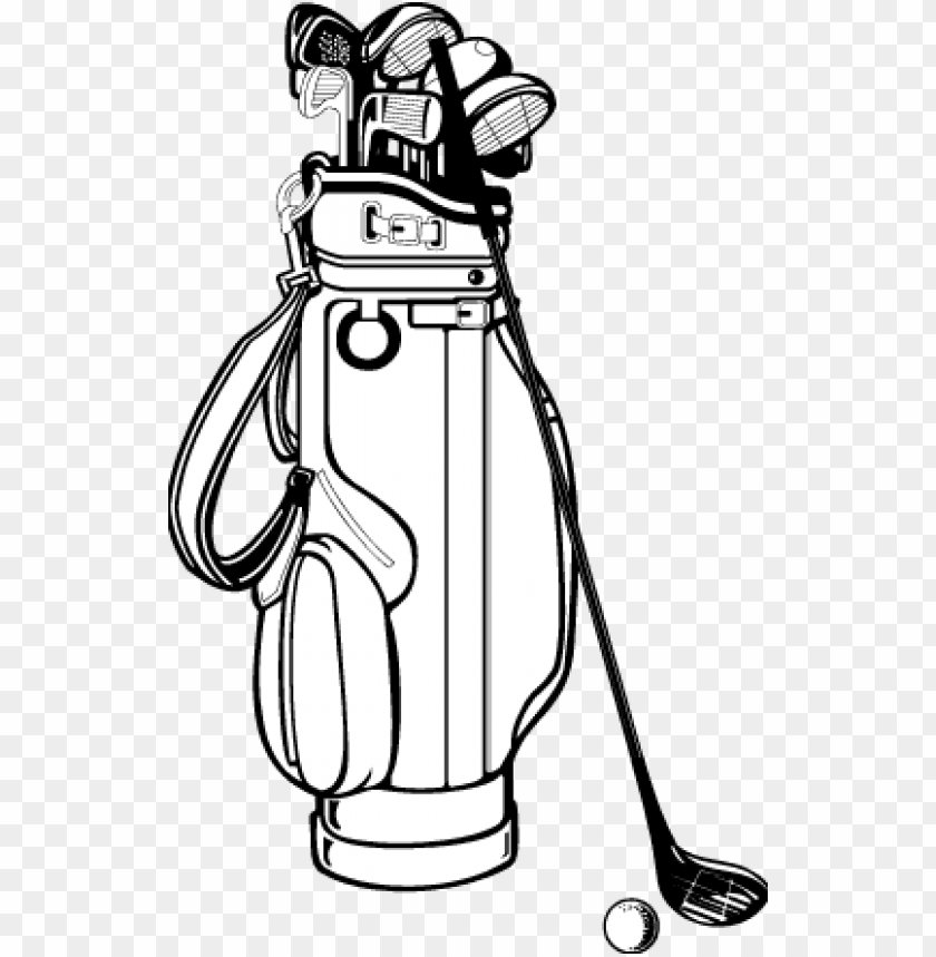 Icture Freeuse Library Drawing At Getdrawings Com Drawing Of Golf Clubs Png Image With Transparent Background Toppng