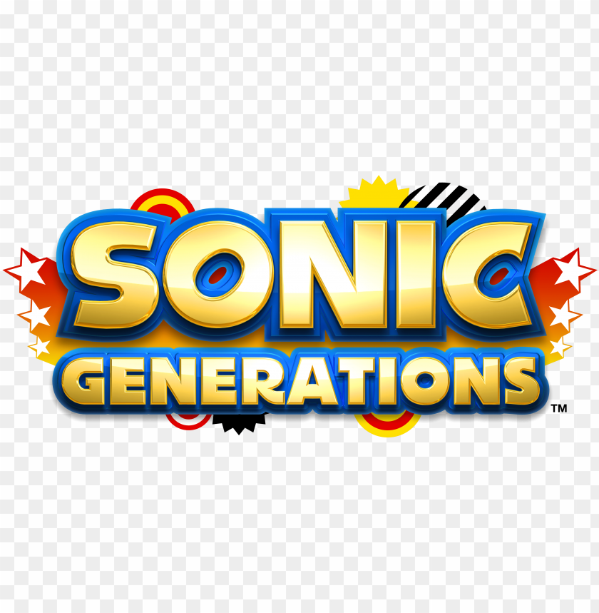 Icture Hedgehog Vector Sonic Generation Sonic Generations Logo Png Image With Transparent Background Toppng