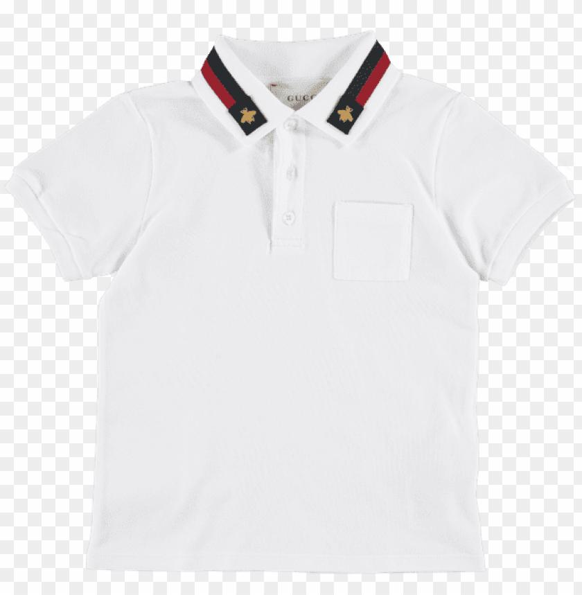 Boys Applique Stripe Polo Top T Shirt