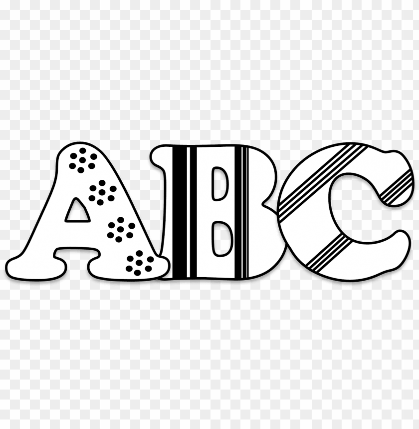 free PNG icture royalty free download abc blocks clipart black - abc clipart black and white PNG image with transparent background PNG images transparent