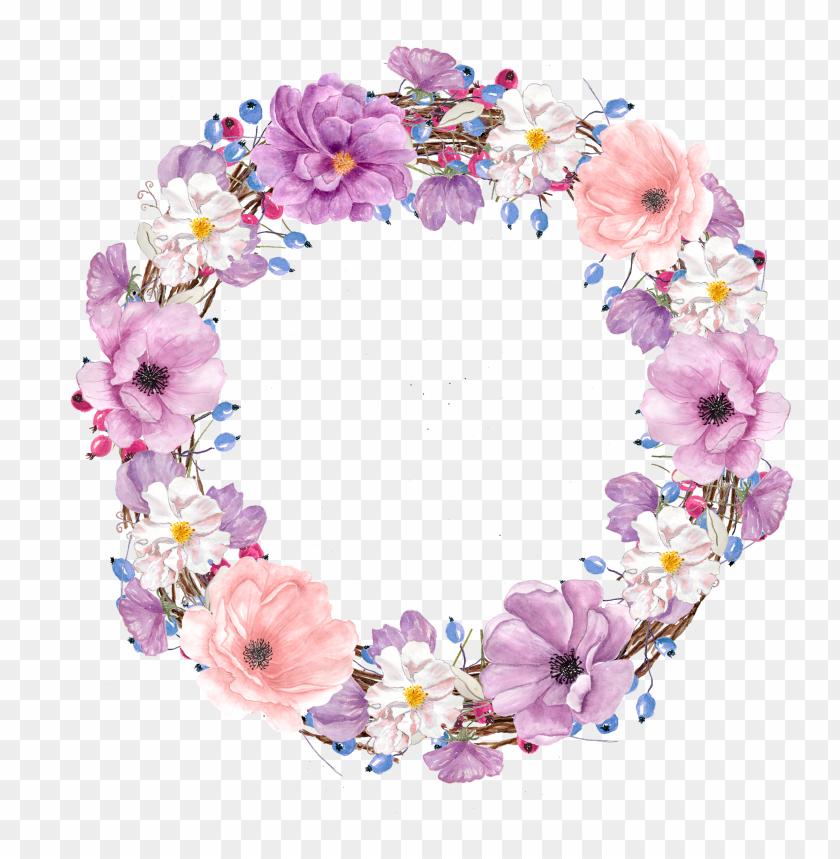 free PNG icture transparent library floral design watercolor - water color purple flower clip art PNG image with transparent background PNG images transparent