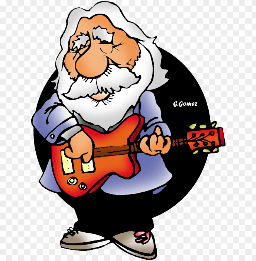 free PNG ictures of old men with guitar - old man guitar cartoo PNG image with transparent background PNG images transparent