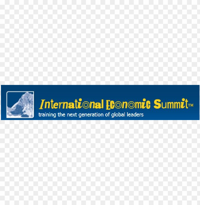 free PNG ies - international economic summit logo PNG image with transparent background PNG images transparent