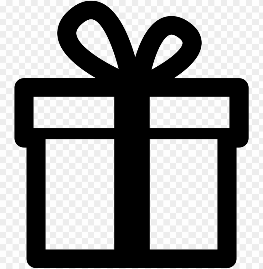 free PNG ift box comments - gift box vector black white PNG image with transparent background PNG images transparent