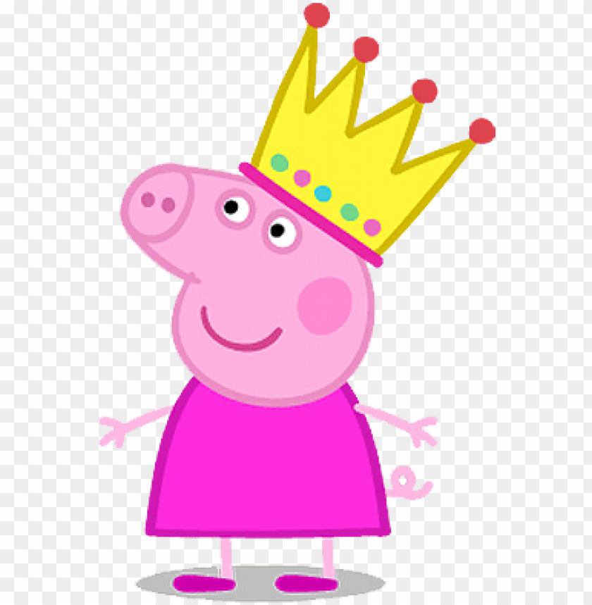 Ig Png, Peppa Pig Printables, Pig Character, Pig Illustration, - Peppa Pig  With Crow PNG Image With Transparent Background TOPpng