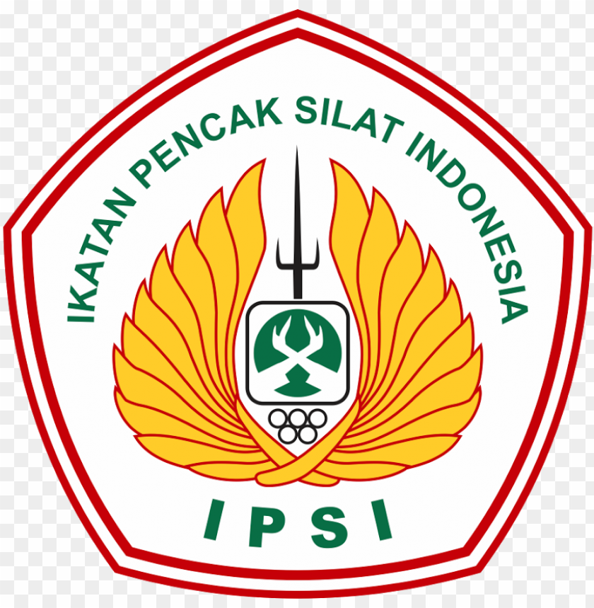 ikatan pencak silat indonesia vector logo logo pencak silat ipsi png image with transparent background toppng logo pencak silat ipsi png image