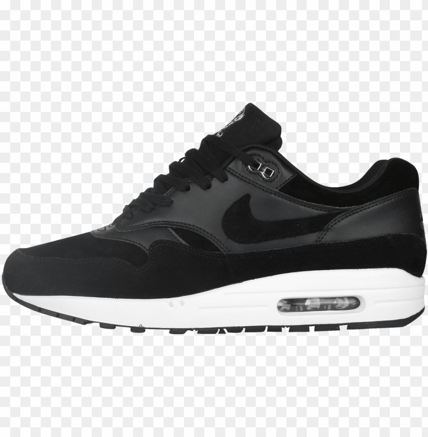 free PNG ike air max 1 premium black / chrome skulls pack - nike air max thea men shoes PNG image with transparent background PNG images transparent