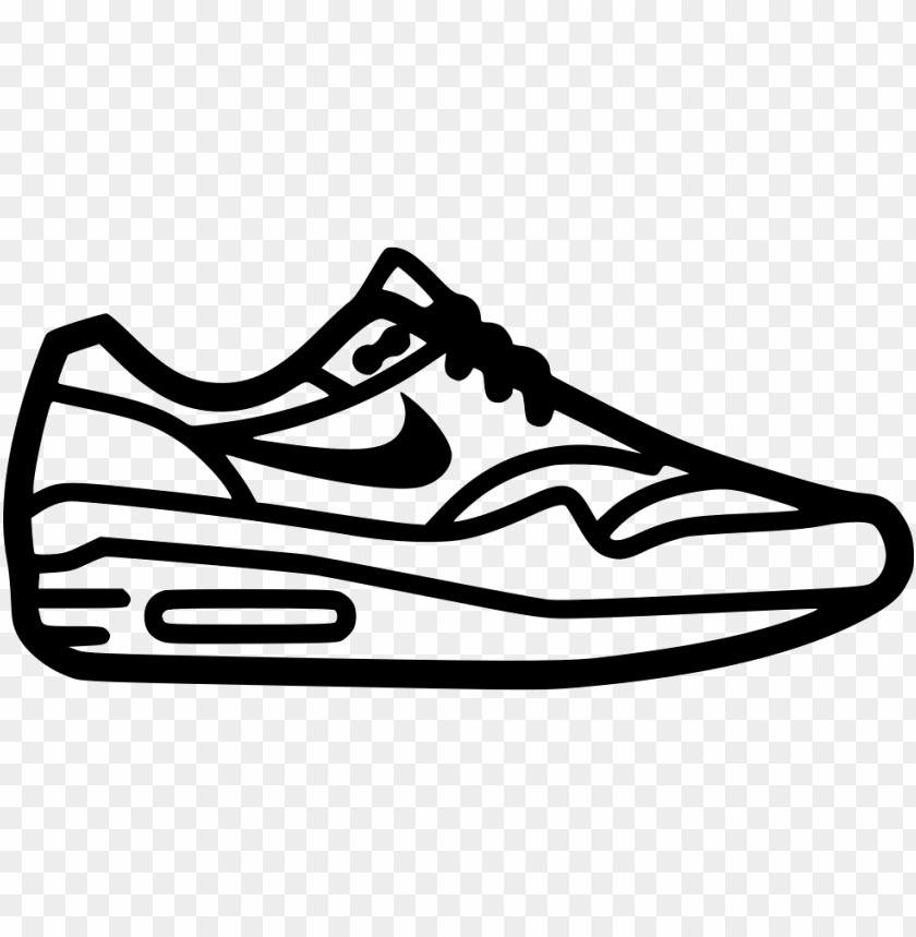 free PNG ike airmax svg png icon free download - nike shoe icon PNG image with transparent background PNG images transparent