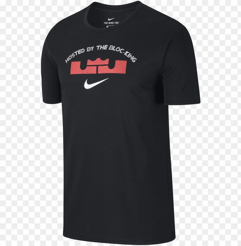 free PNG ike lebron james block party dry tee for £30 - nike t shirt lebron james block party PNG image with transparent background PNG images transparent