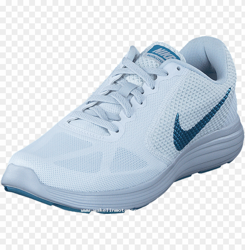 free PNG ike revolution 3 white/cerulean pure platinum 60031 - running shoe PNG image with transparent background PNG images transparent