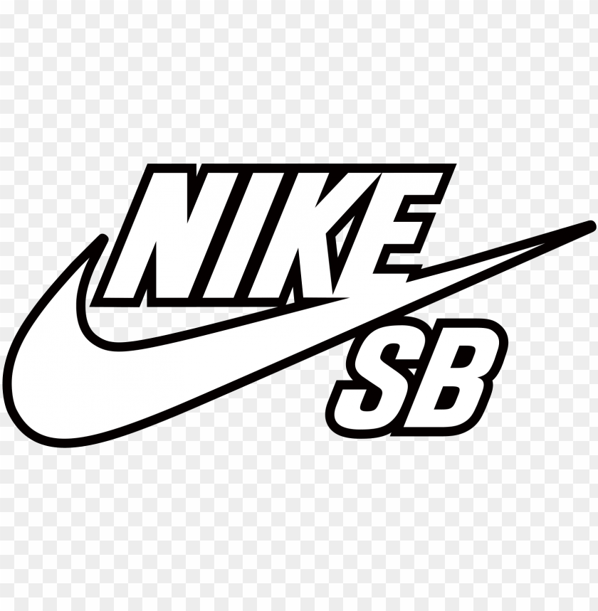 Ike Sb Logo Coloring Page Nike Sb Png Image With Transparent
