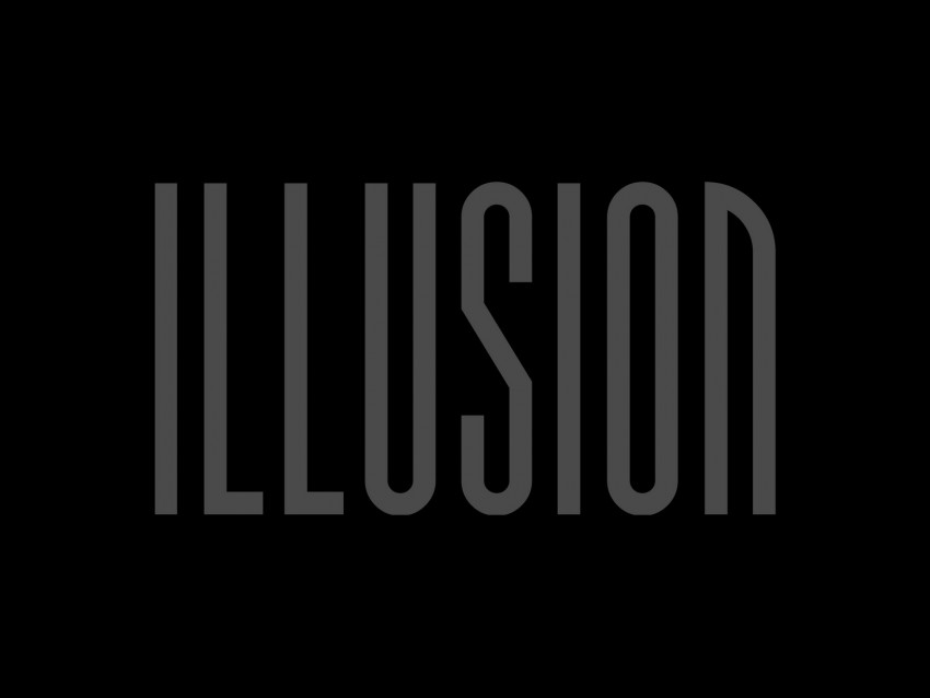 free PNG illusion, inscription, dark, letters, word background PNG images transparent
